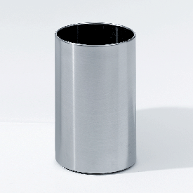 Decor Walther DW 104 waste paper bin stainless steel matt finish