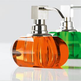 Decor Walther KR SSP soap and disinfectant dispenser chrome/amber