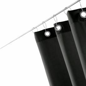 Decor Walther LOFT DV shower curtain black