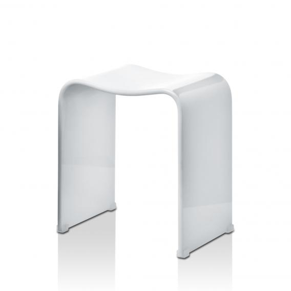 Decor Walther DW 80 bathroom stool white high gloss