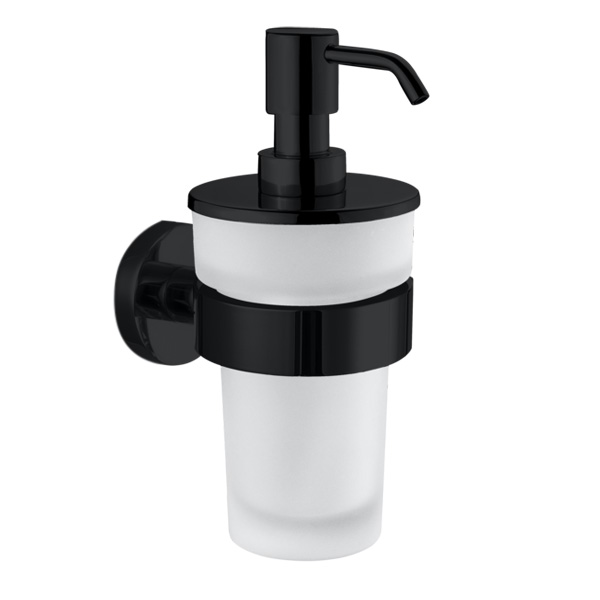 Decor Walther BA WSP soap and disinfectant dispenser matt black