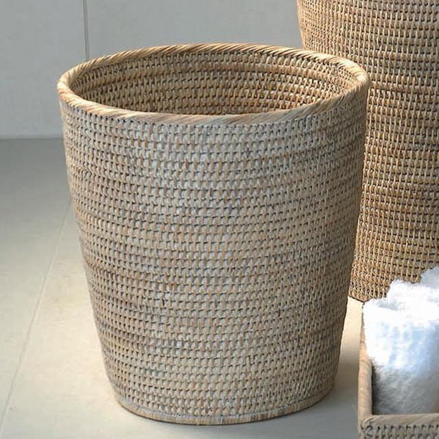 Decor Walther BASKET PK waste paper basket rattan light