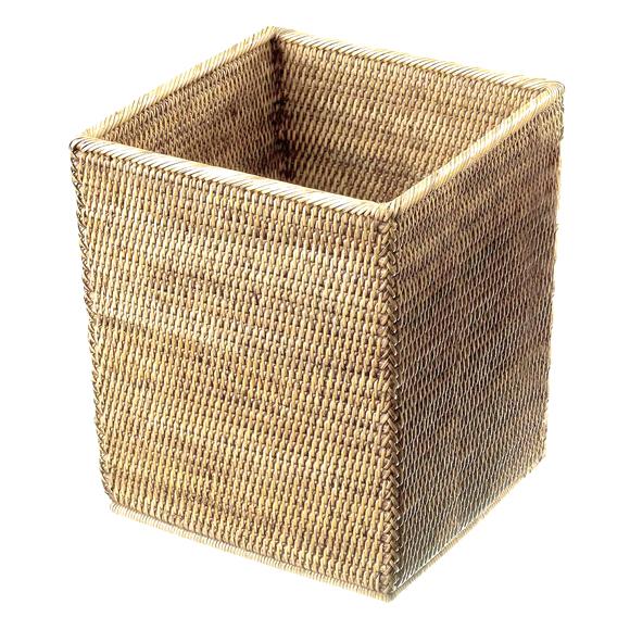 Decor Walther BASKET QK waste paper basket rattan light