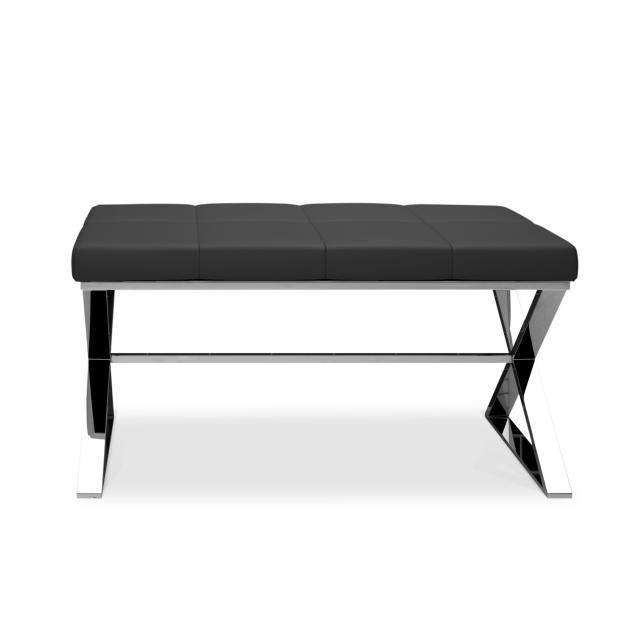 Decor Walther bench chrome/black