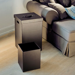 Decor Walther Brownie laundry basket with lid