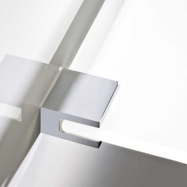 Decor Walther CO GKH glass shelf bracket chrome