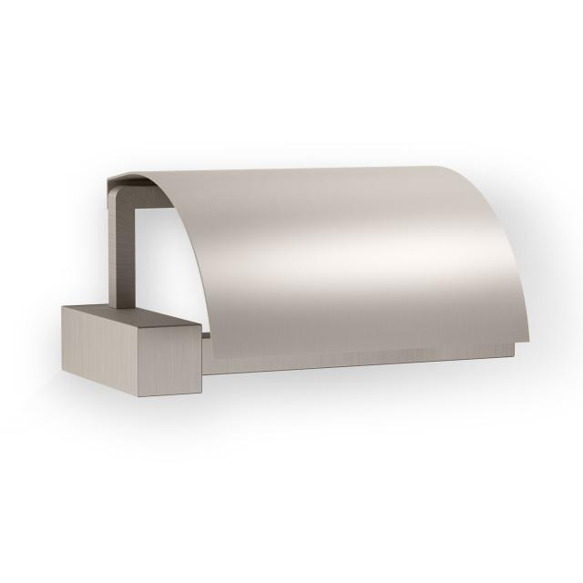 Decor Walther CO TPH4 toilet roll holder with lid satin nickel