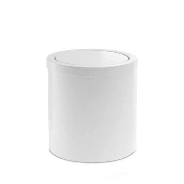 Decor Walther DW 125 waste bin with swing lid matt white