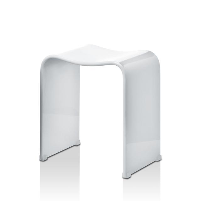 Decor Walther DW 80 bathroom stool white high gloss