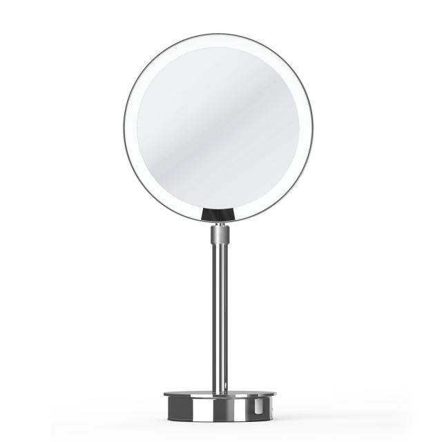 Decor Walther JUST LOOK SR LED freestanding beauty mirror chrome