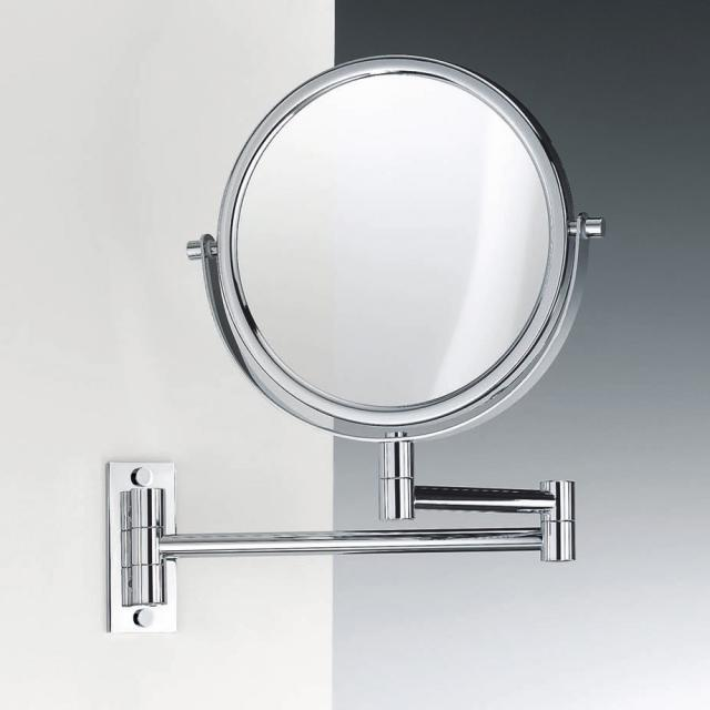 Decor Walther SPT 33 wall-mounted  beauty mirror, 5x / 1x magnification chrome