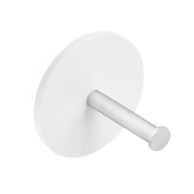 Decor Walther STONE TPH1 spare toilet roll holder matt white/matt stainless steel