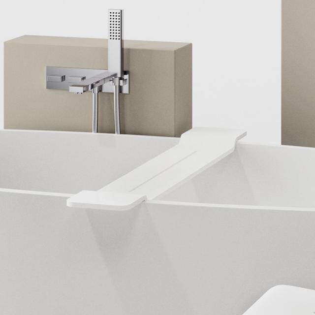 Decor Walther STONE WAN bath tray matt white