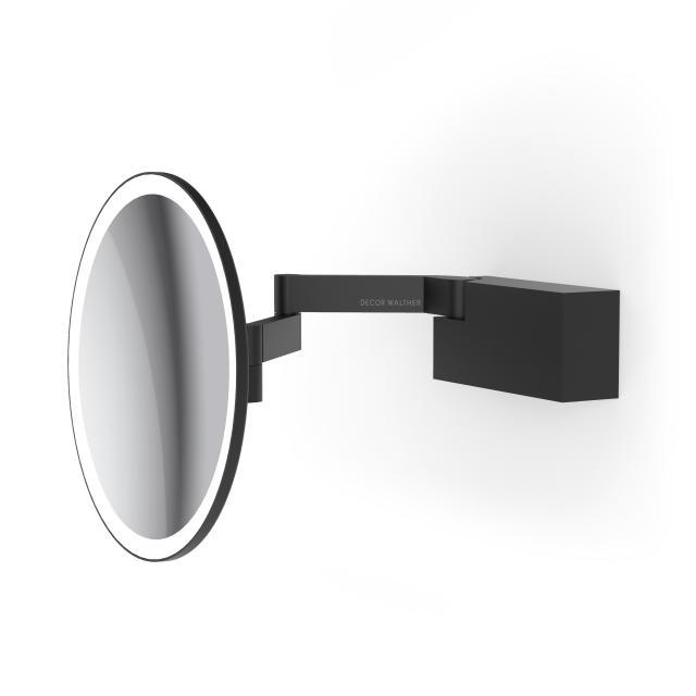 Decor Walther VISION R LED shaving and beauty mirror matt black