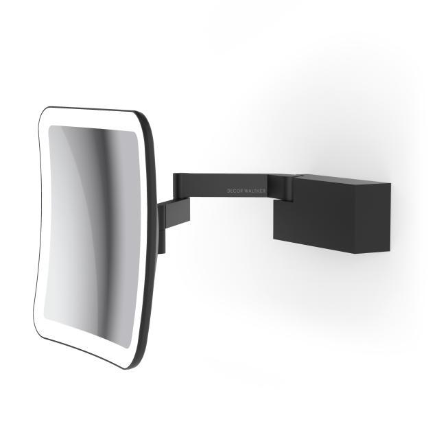 Decor Walther VISION S LED shaving and beauty mirror matt black
