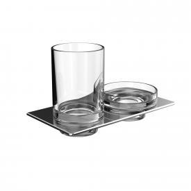 Emco Art soap dish and tumbler holder set
