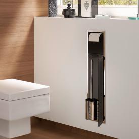 Emco Asis concealed toilet module black