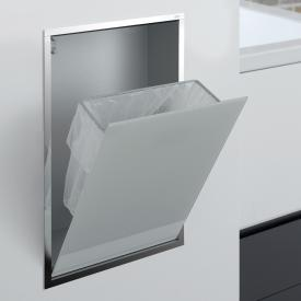 Emco Asis concealed waste bin module optiwhite/chrome