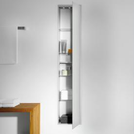 Emco Asis concealed cabinet module optiwhite/aluminium