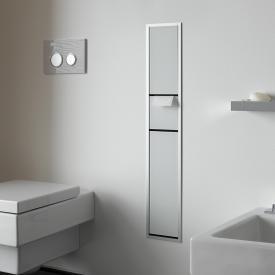 Emco Asis concealed guest toilet module optiwhite/aluminium