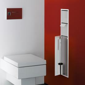 Emco Asis concealed toilet module optiwhite/chrome