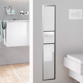 Emco Asis concealed toilet module optiwhite/chrome