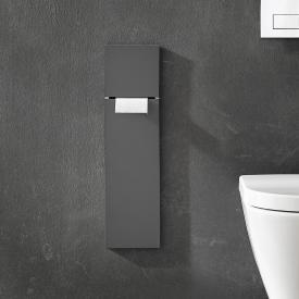 Emco Asis Pure recessed toilet module matt grey