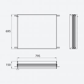 Emco Evo installation frame