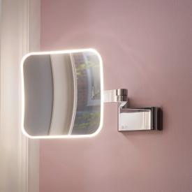 Emco Evo Miroir cosmétique LED, raccordement direct chrome