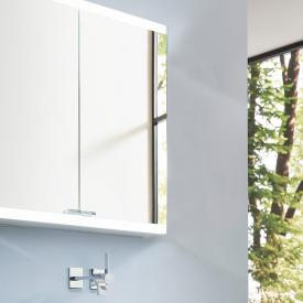 Emco Evo wall-mounted mirror cabinet with LED lighting