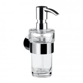 Emco Fino liquid soap dispenser, wall-mounted