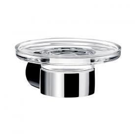 Emco Fino soap dish with crystal dish