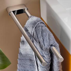 Emco Flow double towel bar