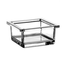 Emco Liaison glass dish square