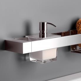 Emco Liaison soap dispenser for rail