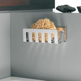 Emco Loft | System2 wall-mounted dish chrome