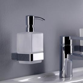 Emco Loft liquid soap dispenser, wall-mounted chrome