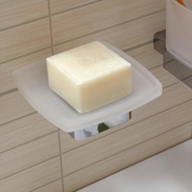 Emco Loft soap dish, wall-mounted chrome