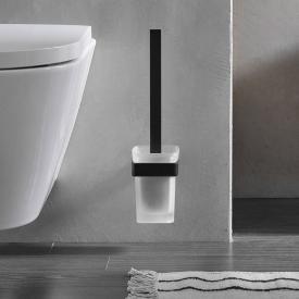 Emco Loft toilet brush set black