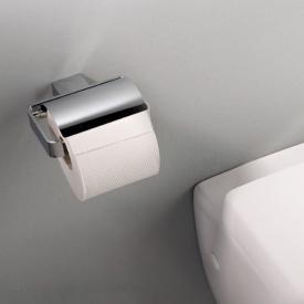 Emco Loft toilet roll holder with cover chrome