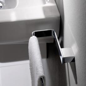 Emco Loft towel ring, fixed chrome