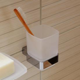Emco Loft tumbler holder, wall-mounted chrome
