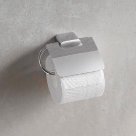 Emco Logo2 toilet roll holder with cover
