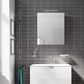 Emco Mee Armoire de toilette en applique avec éclairage LED, 1 porte