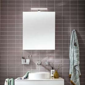 Emco Mee wall-mounted LED illuminated mirror cabinet, 1 door