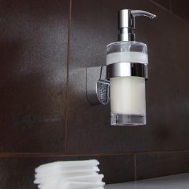 Emco Mundo liquid soap dispenser chrome