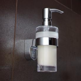 Emco Mundo liquid soap dispenser chrome