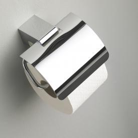 Emco Mundo toilet roll holder with cover chrome