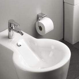 Emco Mundo toilet roll holder without cover chrome