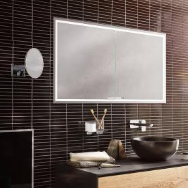 Emco Prestige 2 recessed illuminated mirror cabinet